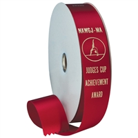 "1-5/8"" Wide Hot Stamped Ribbon Rolls - 100 yds."
