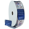 "2"" Wide Multicolor Ribbon Rolls - 100 yds."