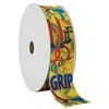 "2"" Wide Multicolor ""Get A Grip"" Stock Ribbon Rolls - 100 yds."