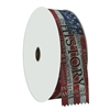 "2"" Wide Multicolor ""History"" Stock Ribbon Rolls - 100 yds."