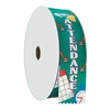 "2"" Wide Multicolor ""Perfect Attendance"" Stock Ribbon Rolls - 100 yds."