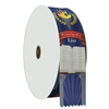 "2"" Wide Multicolor ""Principal's List"" Stock Ribbon Rolls - 100 yds."