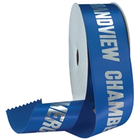 "2-1/2"" Wide Hot Stamped Ribbon Rolls - 100 yds."