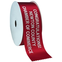 "3"" Wide Hot Stamped Ribbon Rolls - 100 yds."