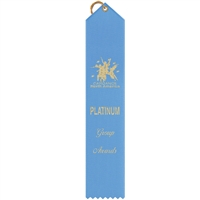 "2"" x 10"" Hot Stamped Point Top Ribbons"