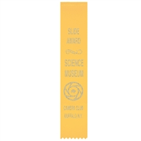 "2"" x 10"" Hot Stamped Hemmed Top Ribbons"