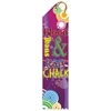 "2"" x 8"" Multicolor ""Sweat & Chalk"" Stock Point Top Ribbons"