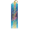"2"" x 8"" Multicolor ""Common Core"" Stock Point Top Ribbons"