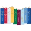 "2"" x 8"" Track Stock Square Top Ribbons"