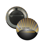 "2-1/4"" Full Color ""Academic Excellence"" Stock Buttons"