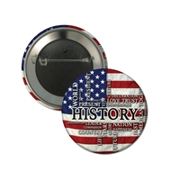 "2-1/4"" Full Color ""History"" Stock Buttons"