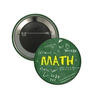 "2-1/4"" Full Color ""Math"" Stock Buttons"