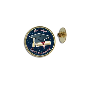 """Graduation"" Stock Lapel Pins"