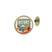 """History"" Stock Lapel Pins"