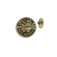 """Most Improved"" Stock Lapel Pins"