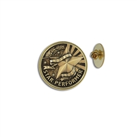 """Star Performer"" Stock Lapel Pins"