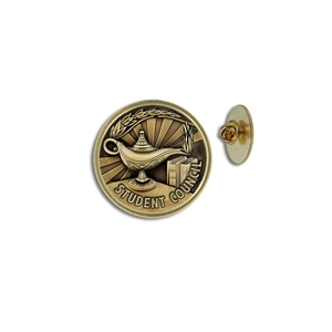 """Student Council"" Stock Lapel Pins"