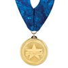 "2"" BLMedal w/ Stock Millennium Neck Ribbon"