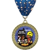 "2-5/8"" GFL Full Color Medal w/ Stock Millennium Neck Ribbon"