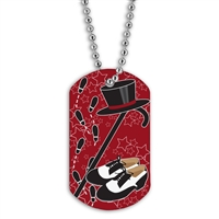 Full Color Dog Tags w/ Dance Stock Designs