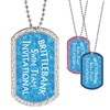 Full Color Custom GEM Dog Tags