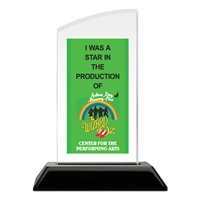 Full Color Acrylic Trophy - Arrowhead