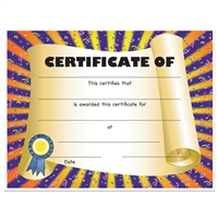 "Full Color ""Scroll"" Stock Certificates"