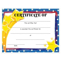 "Full Color ""Stars"" Stock Certificates"