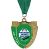 "2-3/4"" MS14 Full Color Medal w/ Grosgrain Neck Ribbon"