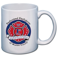 Full Color Ceramic Mugs, Case of 36